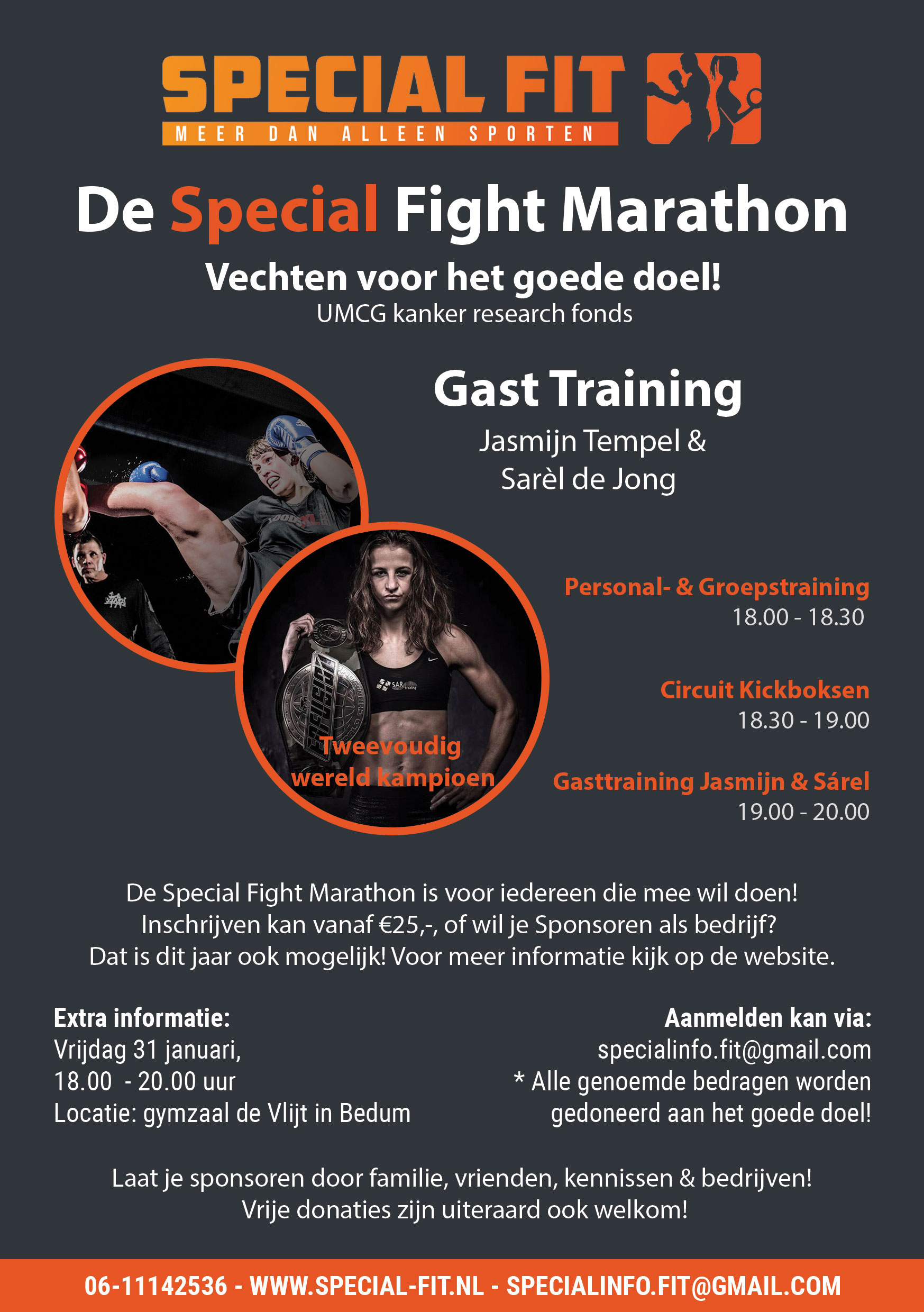 De Special Fight Marathon
