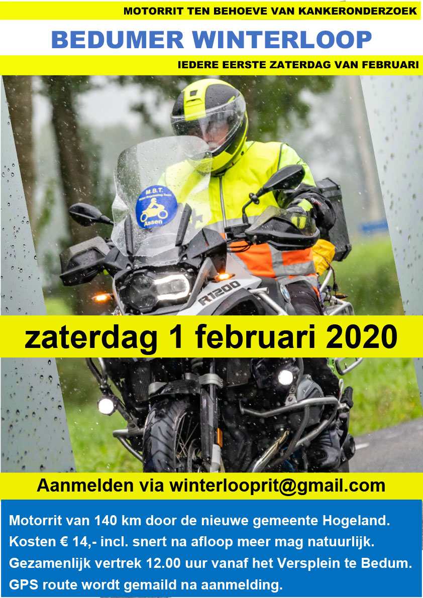 De Winterloop Rit